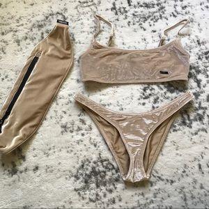 Triangl Serea Nude Velvet Bikini